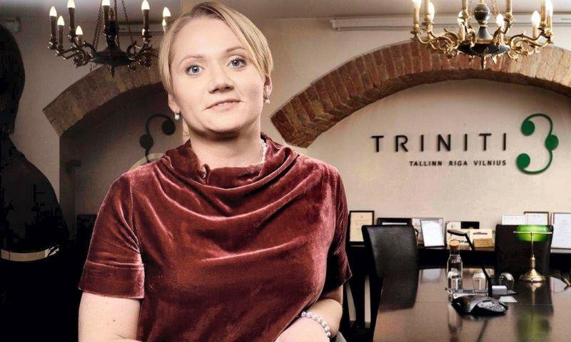 """Vilija Viešūnaitė, advokatų kontoros """"Triniti"""" vadovaujančioji partnerė. Kontoros nuotr."""