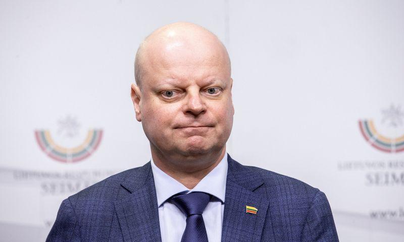 Saulius Skvernelis, ministras pirmininkas. Juditos Grigelytės (VŽ) nuotr.