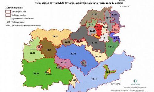 Įsigaliojo nauji žemės verčių žemėlapiai