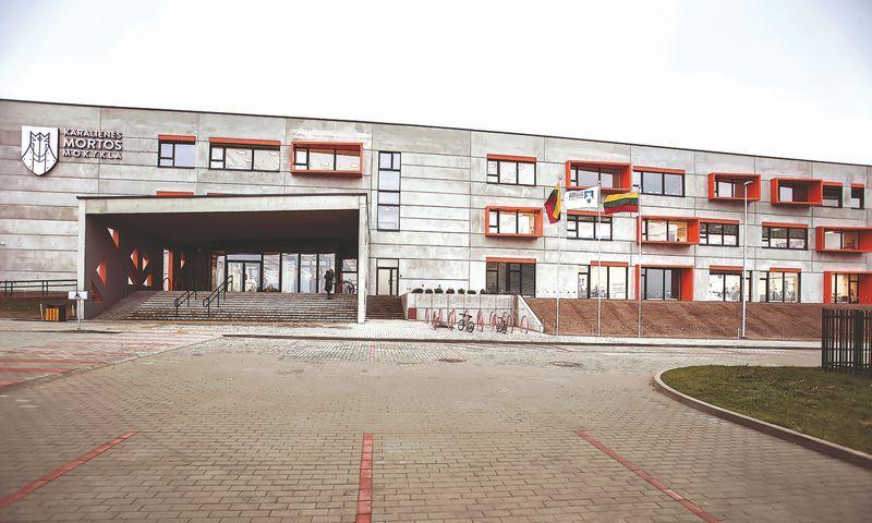 Naujoji Karalienės Mortos mokykla Kalnėnuose. Bendrovės nuotr.