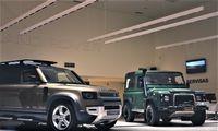 """Vilniuje – išankstinis """"Land Rover Defender"""" pasirodymas"""