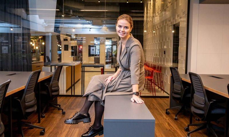 Viktorija Vaitkevičienė, KŪB Koinvesticinio fondo direktorė. Juditos Grigelytės (VŽ) nuotr.