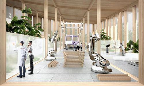 """""""Toyota"""" statys ateities miestą"""