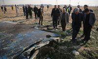 Iranas pripažino netyčia numušęs Ukrainos lėktuvą