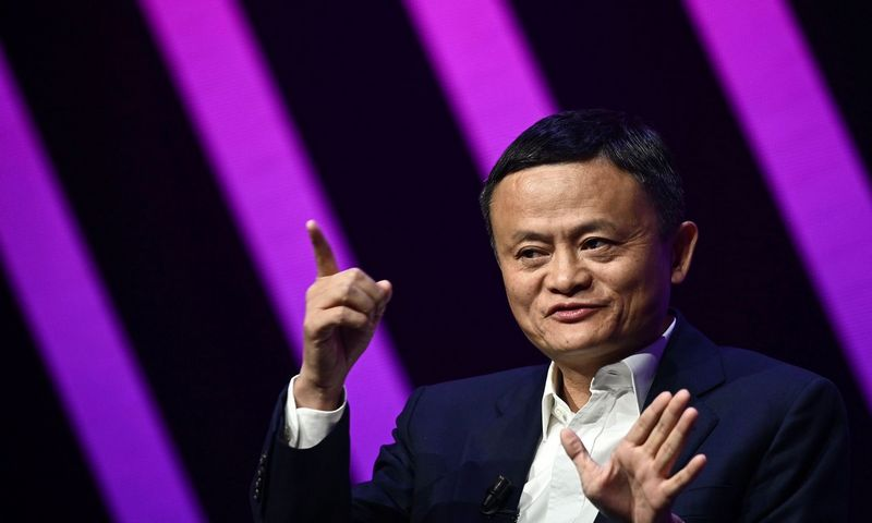 """2019 m. Jacko Ma turtas buvo vertas 42 mlrd. USD, 2010 m. – tik 1,2 mlrd. USD. Philippe Lopez (AFP/""""Scanpix"""") nuotr."""