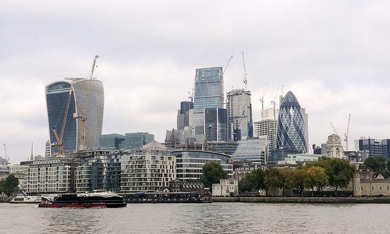 Londonas, Londono Sitis. Pauliaus Čiulados (VŽ) nuotr.