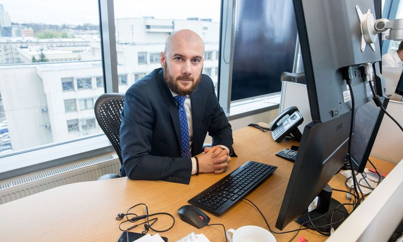 """Mantvidas Žėkas, FMĮ """"OrionSecurities"""" kapitalo rinkų vadovas: """"Pagal techninę analizę atrinktos įmonės dažnai yra tik pasitvirtinimas pats sau, kad viską darau gerai."""" Juditos Grigelytės (VŽ) nuotr."""