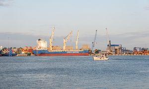 Bus gilinamas Klaipėdos uosto laivybos kanalas