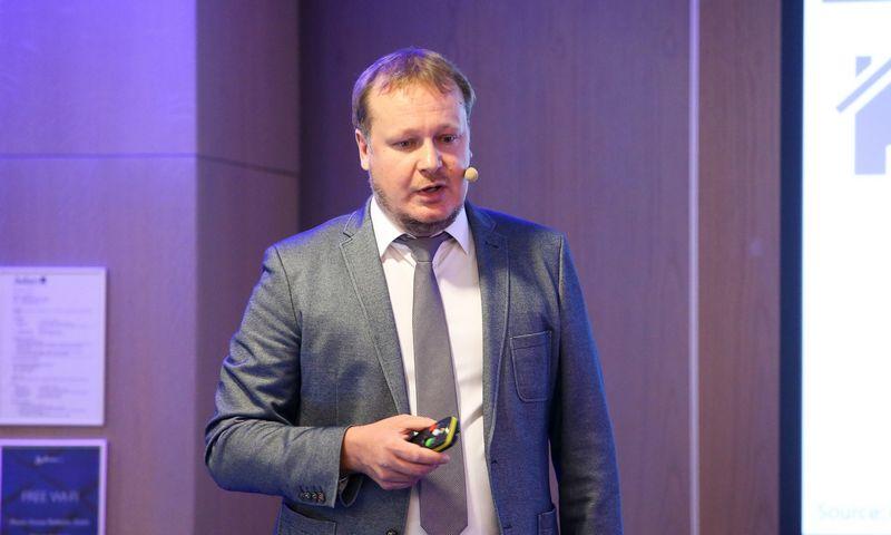 """Saulius Vagonis, """"Ober–Haus"""" vertinimo ir rinkos tyrimų departamento vadovas. Vladimiro Ivanovo (VŽ) nuotr."""