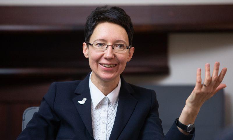 Jūratė Šovienė, prezidento kanceliarijos Teisės grupės vadovė, prezidento vyriausioji patarėja. Vladimiro Ivanovo (VŽ) nuotr.