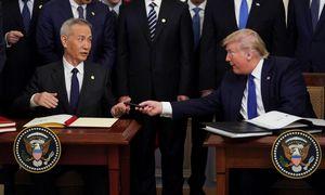 JAV ir Kinija pasirašė tarpinį prekybos susitarimą