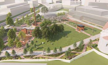 Vilnius planuoja naują skverą Stoties rajone