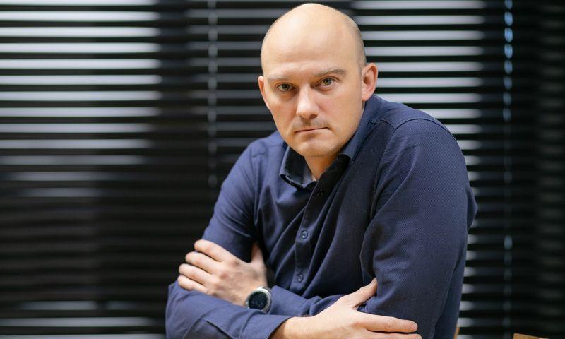 """Giedrius Meškauskas, UAB """"TeraSky Baltic"""" kibernetinio saugumo paslaugų ir operacijų vadovas. Bendrovės nuotr."""
