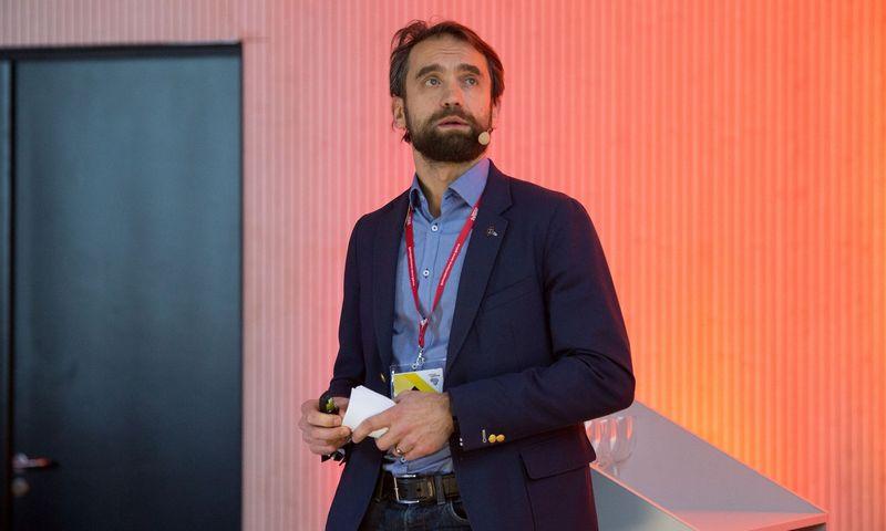 """Šarūnas Šiugžda, """"LitCapital"""" steigėjas ir vykdantysis partneris.  Vladimiro Ivanovo (VŽ) nuotr."""