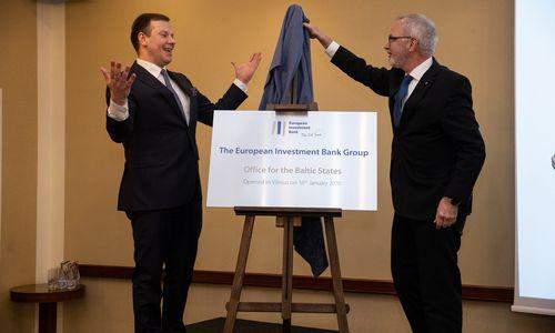 Europos investicijų bankas Vilniuje atidaro atstovybę Baltijos šalims