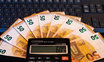 Valstybės ir savivaldybių biudžetai gavo 23,4% daugiau pajamų