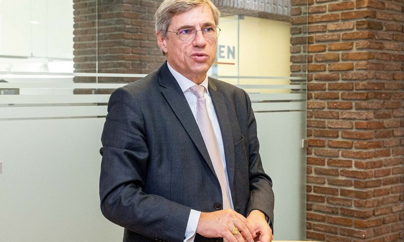 "Thierry Franckas de Preaumontas, ""Idex"" grupės prezidentas. Juditos Grigelytės (VŽ) nuotr."