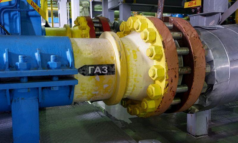 """Jamalo pusiasalis, """"Gazprom"""" Bovanenkovo dujų telkinys. Naglio Navako (VŽ) nuotr."""