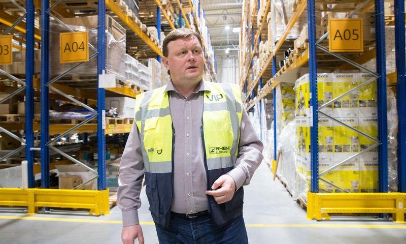 """Arūnas Bertašius, """"Rhenus Logistics"""" generalinis direktorius, tvirtina, kad pastatas tėra lengviausia plėtros dalis. Juditos Grigelytės (VŽ) nuotr."""