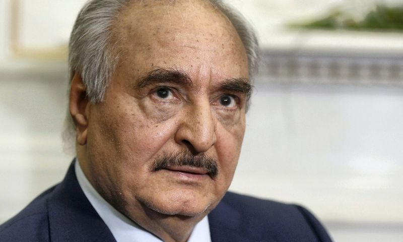 Libijos autokratas Khalifa Haftaras (Chalifai Haftarui). Costas Baltas (Reuters/Scanpix) nuotr.
