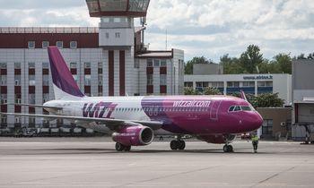 """""""Wizz Air"""" iš Vilniaus skraidins į Sankt Peterburgą"""