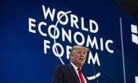 D. Trumpas Davose: mūsų santykiai su Kinija dar niekada nebuvo tokie geri