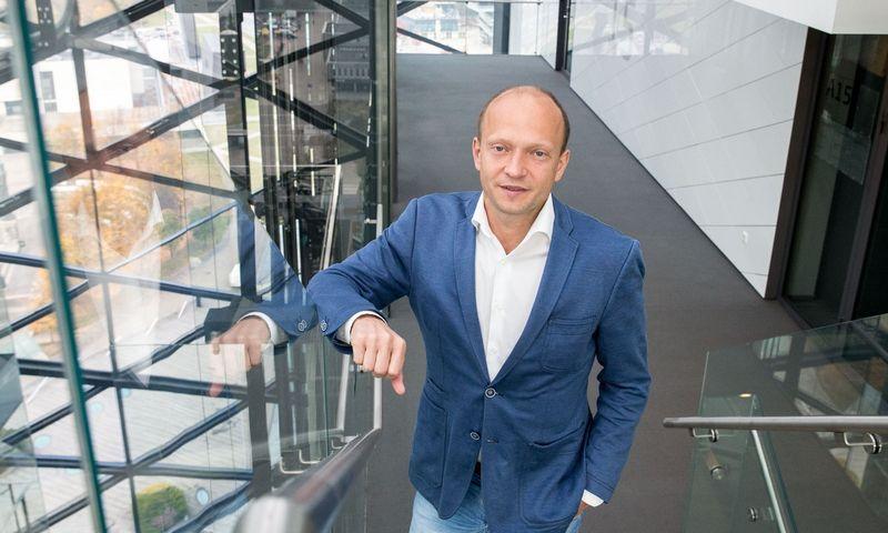 """Nerijus Mačiulis, """"Swedbank"""" vyriausiasis ekonomistas.Juditos Grigelytės (VŽ)"""