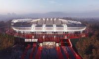 Europos sostinių stadionų lokacija patvirtina Vilniaus pasirinkimą