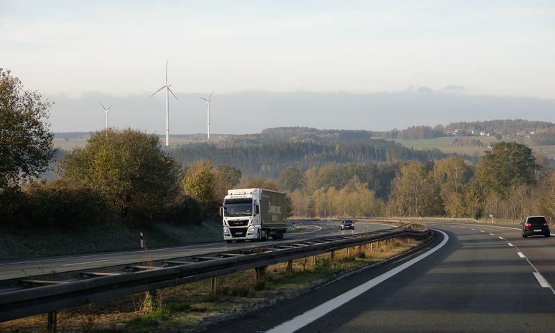Mobilumo paketo nuostatos apribos Rytų Europos vežėjų veiklą Vakarų šalyse. Vladimiro Ivanovo (VŽ) nuotr.