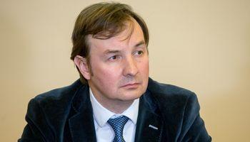 Naujasis Vilniausuniversiteto rektorius - prof. Rimvydas Petrauskas