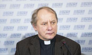 Vilniaus garbės piliečiu paskelbtas kunigas Julius Sasnauskas