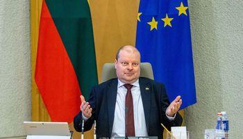 J. Narkevičius neatsistatydins, valdantiejitam pritaria, opozicija svarstys, ką daryti
