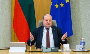 Susisiekimo ministras nemato reikalo atsistatydinti, valdantieji jam pritaria