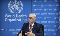 PSO koronaviruso protrūkio Kinijoje kol kas nelaiko tarptautine ekstremalia padėtimi