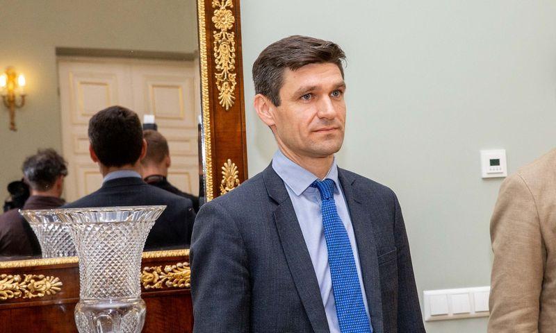 Simonas Krėpšta, prezidento patarėjas. Juditos Grigelytės (VŽ) nuotr.