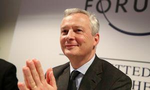 """B. Le Maire: Prancūzija ir JAV susitarė siekti """"bendro pasaulinio skaitmeninio mokesčio"""""""