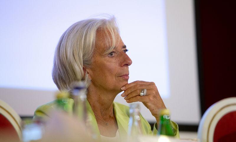 ECB vadovė Christine Lagarde. Vladimiro Ivanovo (VŽ) nuotr.