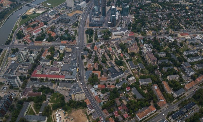 Šnipiškių panorama. Vladimiro Ivanovo (VŽ) nuotr.