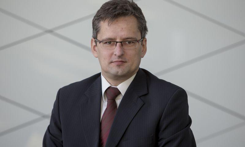 """Vaidas Paukštys yra """"Swedbank investicijų valdymo"""" portfelių valdytojas. Vladimiro Ivanovo (VŽ) nuotr."""