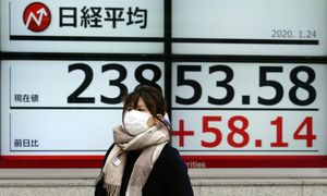 Įtampa dėl viruso slūgtelėjo – akcijų kainos atsistatė