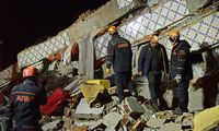 Turkijos rytus supurtė 6,8 balo žemės drebėjimas