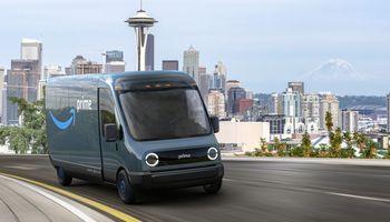 """""""Amazon"""", """"Ikea"""", DHL ir kiti susijungė į elektrinių transporto priemonių aljansą"""