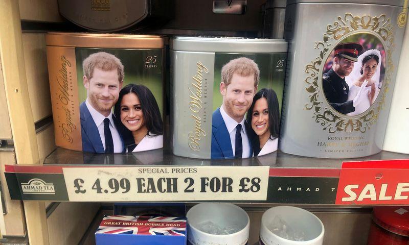 """Princas Harry ir aktorė Meghan Markle susituokė 2018-aisias. (""""Reuters""""/""""Scanpix"""") nuotr."""