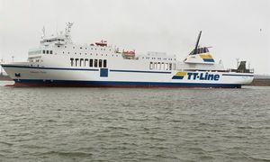 """Klaipėdoje – naujas """"TT-Line"""" laivyno keltas """"Marco Polo"""""""