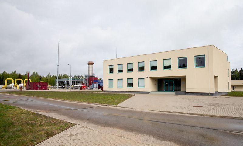 Jauniūnų dujų kompresorių stotis. Juditos Grigelytės (VŽ) nuotr.