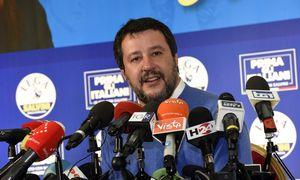 """Italijos populistų lyderio M. Salvini """"Lyga"""" patyrė nesėkmę regioniniuose rinkimuose"""