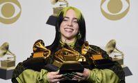 """""""Grammy"""" puokštė – B. Eilish"""