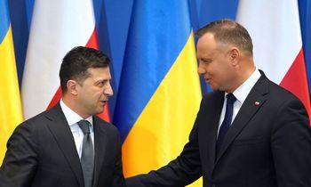 V. Putiną įsiutino V. Zelenskio pareiškimas apie slaptuosius protokolus