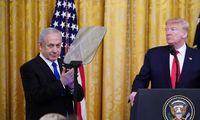 D. Trumpo plane –Palestinos valstybė, įšaldoma nausėdijų statyba