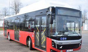 Panevėžys įsigijo 12 naujų autobusų